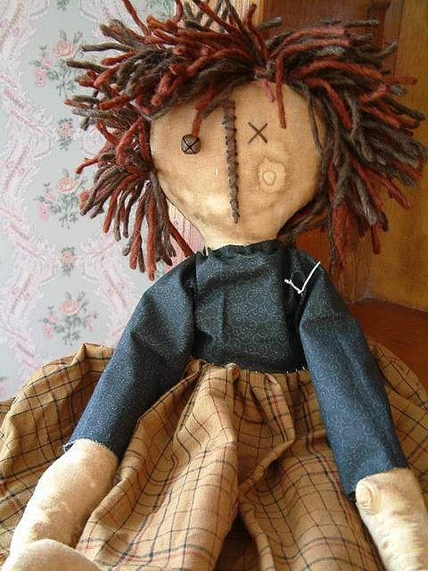 176 Best Images About Primitive Dolls On Pinterest