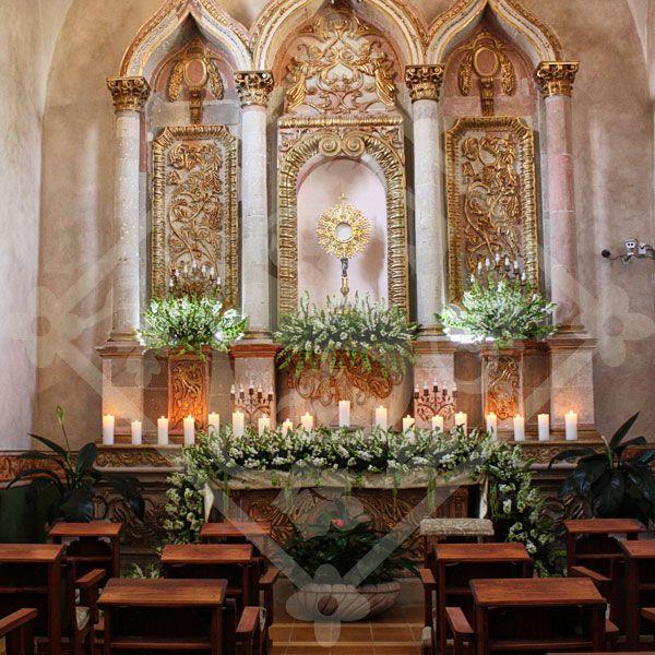 Wedding Altar Decorations: IGLESIAS DECORADAS Www.velasavignon.com