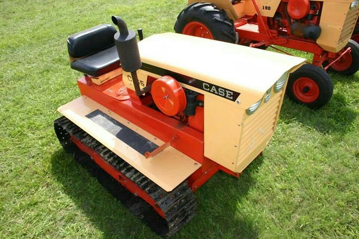 Case Tractor Mowers : Best images about ingersoll case garden tractors on