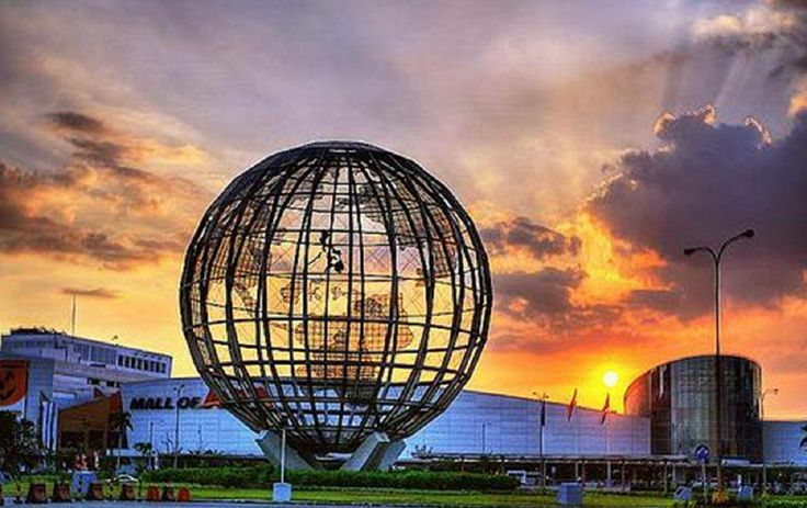 SM mall of asia - Largest mall in the world!