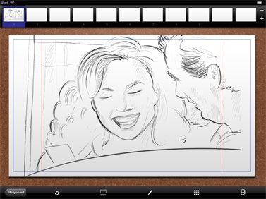how to use ipad as a sketchpad