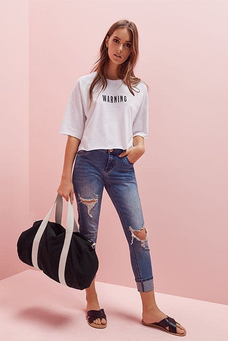 Primark womenswear slogan tops and t-shirts