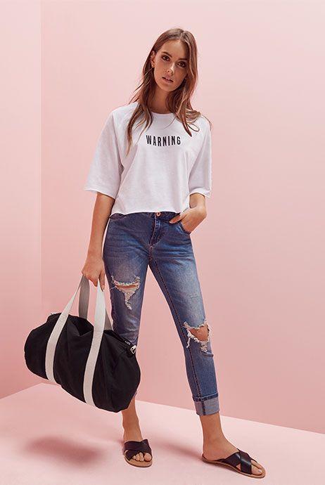 Primark womenswear slogan tops and t-shirts