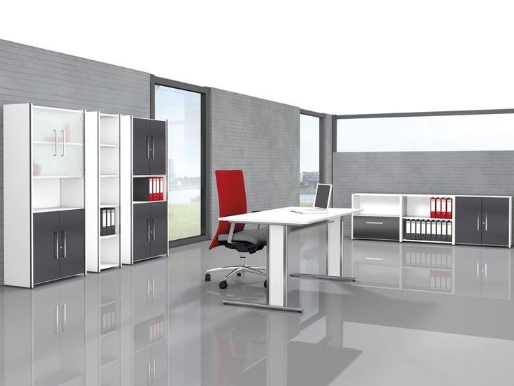 Büromöbel Set AVETO von Kerkmann Komplettbüro 13-teilig