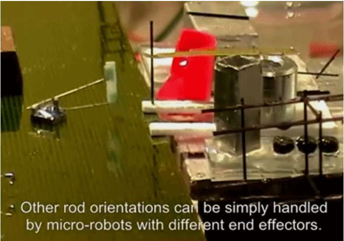 VIDEO: SRI International has developed Micro Robots capable of following Building Instructions