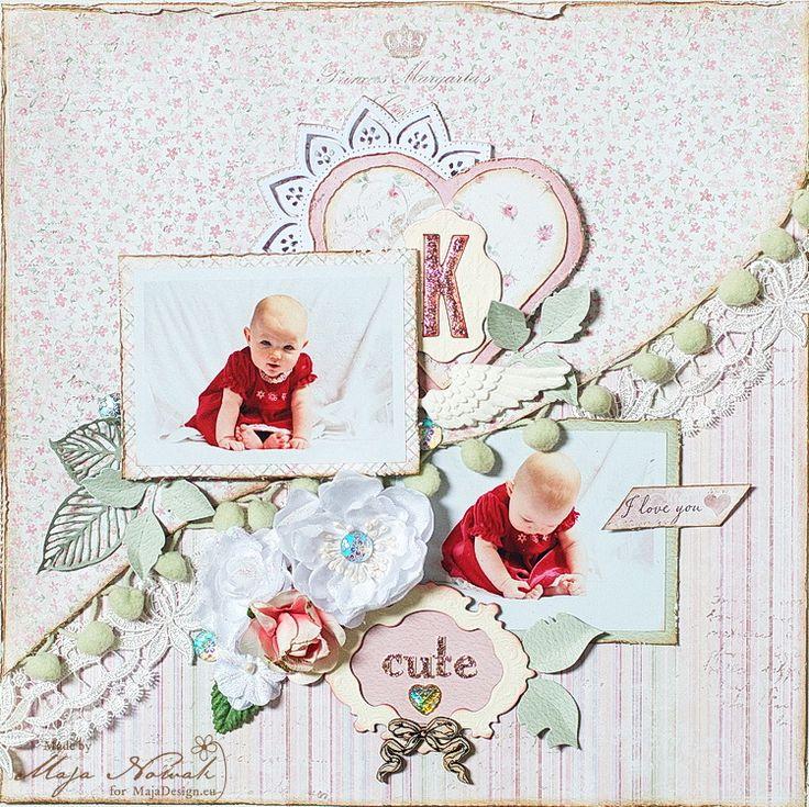 CraftHobby Oliwiaen: Cute. layout 30x30