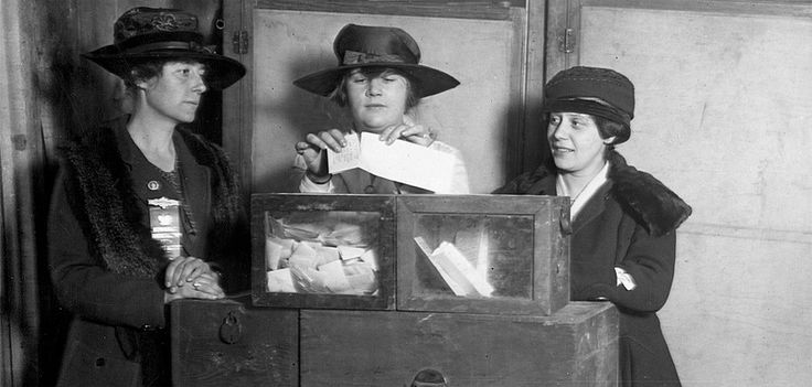 Under the leadership of Democratic President Woodrow Wilson, the U.S. Constitution was amended to grant women the right to vote. On August 18, 1920, women's suffrage became our nation's 19th Amendment.