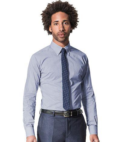 Blue micropattern 100% cotton Shirt http://www.tailor4less.com/en-us/men/shirts/2379-blue-micropattern-100-cotton-shirt