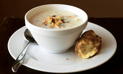 Bacon, Cheese & Potato Chowder - Find this recipe and more at Kraft Foods Everyday Delicious.