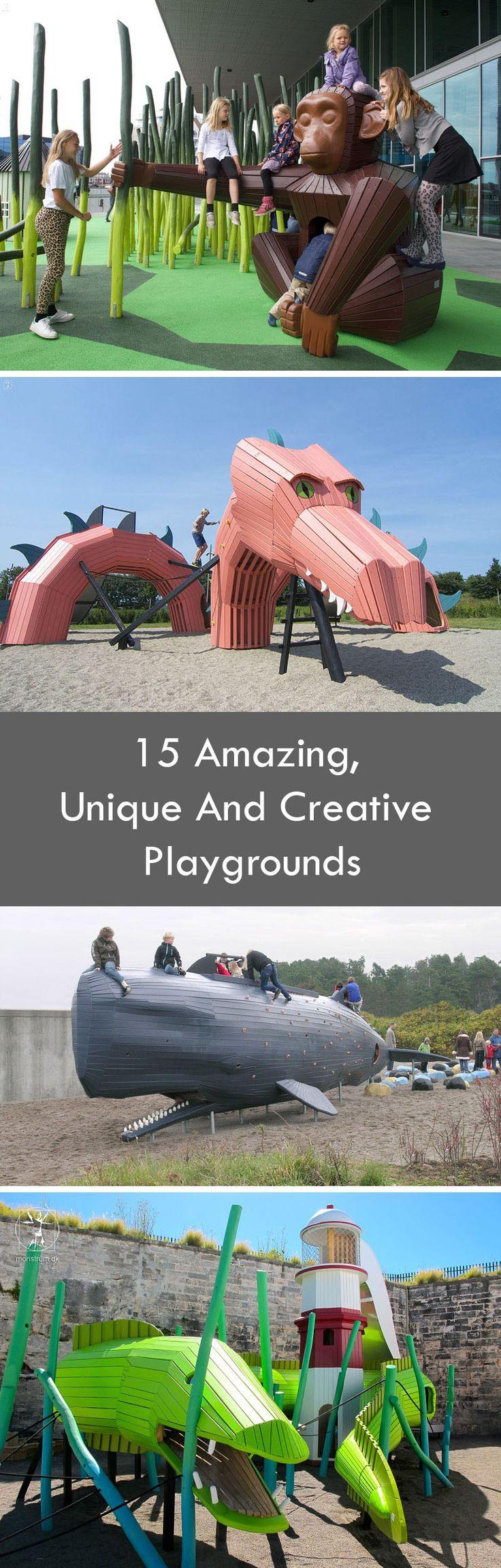 15 Amazing, Unique And Creative Playgrounds
