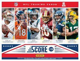 400 Card NFL Football Gift Set featuing cards from 2010-2013 including a bonus factory sealed pack of 2014 Score NFL Stickers – includes…