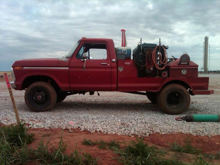 Ford welding rig
