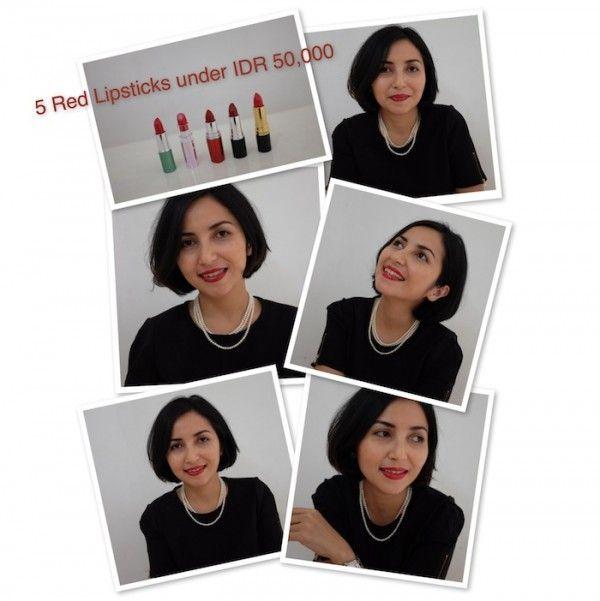 Budget Beauty: 5 Lipstick Merah di Bawah Rp 50,000 - Female Daily