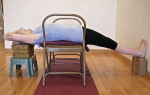 99 best images about iyengar yoga chair back bends on