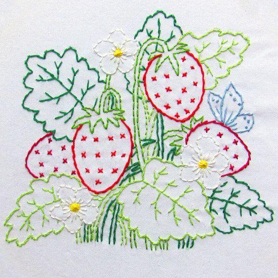 Resultado de imagen flores y frutas patchwork