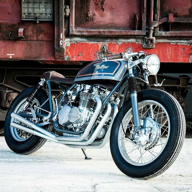 Nasty and Clean Honda CB four 550 1976 Cafe racer build. Courtesy of @ironylon ⚡ thanks for sharing this baby    #caferacer #caferacers #caferacerporn #caferacerxxx #caferacersofinstagram #caferacersociety #caferacerclub #bobber #bobberporn #bobbers #gopro #bobbersnchoppers #oldschool #moto #motorcycles #caferacergram #caferacerofinstagram #greece #dreambike #instagram #motolife #motolove #luxury #athens #europe #instabike #instadaily #caferacerculture #outlaw #caferacerandbobbernation