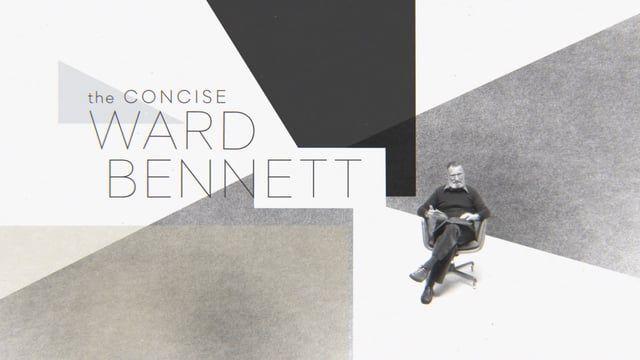 Ward Bennett at 100 http://motionographer.com/quickie/herman-miller-ward-bennett-at-100/?utm_campaign=coschedule&utm_source=pinterest&utm_medium=Justin&utm_content=Ward%20Bennett%20at%20100