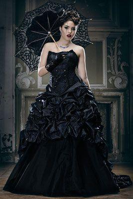 Claire - Steampunk Gothic Hochzeitsoutfit