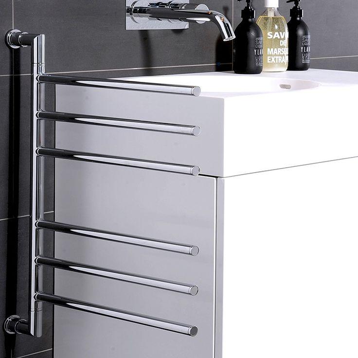 Best 25 towel rail ideas on pinterest bathroom towel - Heated towel racks for bathrooms ...