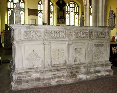 This day in history, July 23rd, in 1536, Henry Fitzroy died at died at St. James's Palace. He was the only acknowledged illegitimate child of Henry VIII and is buried at Framlingham Church in Suffolk.