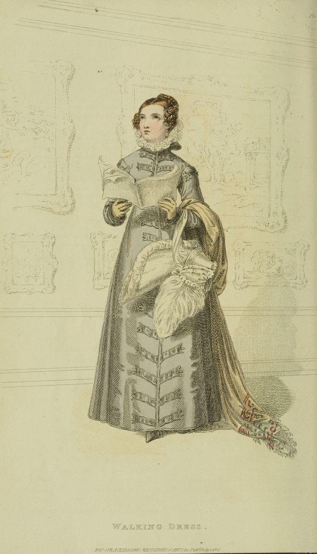 Regency fashion plate the secret dreamworld of a jane austen fan - 1821 Ackermann S Repository Series 2 Vol 12 July Issue The Color Of This Fashion Platesart Literatureregency