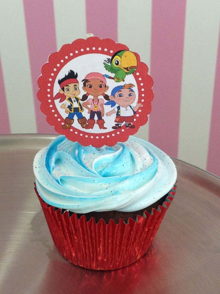 Cupcake Jake el pirata