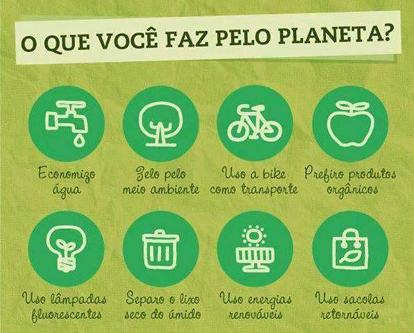 O Q Você Faz Pelo Planeta?