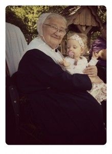 My friend Elizabeth shares about visiting her Amish grandma ...  @NotQuite Amish and #notquiteamish