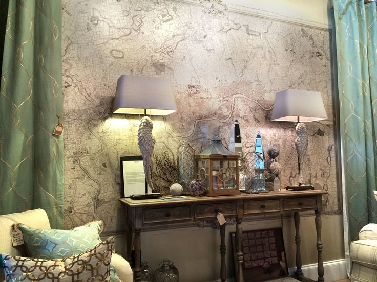 Maran Home In Wilmington Nc Has Recently Installed The London Map In Their Showroom For