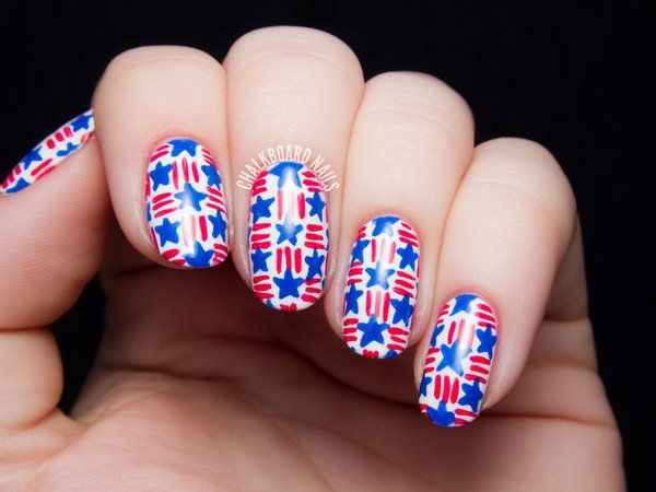 518 best 4th of july nail art images on pinterest nail scissors 30 american flag inspired stripes and stars nail ideas tutorials prinsesfo Gallery