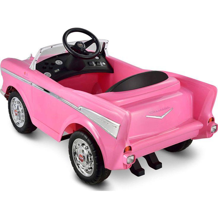 Kid Motorz Chevy Bel Air 12-Volt Battery-Powered Sound One-Seater Ride-On Pink #KidMotorz