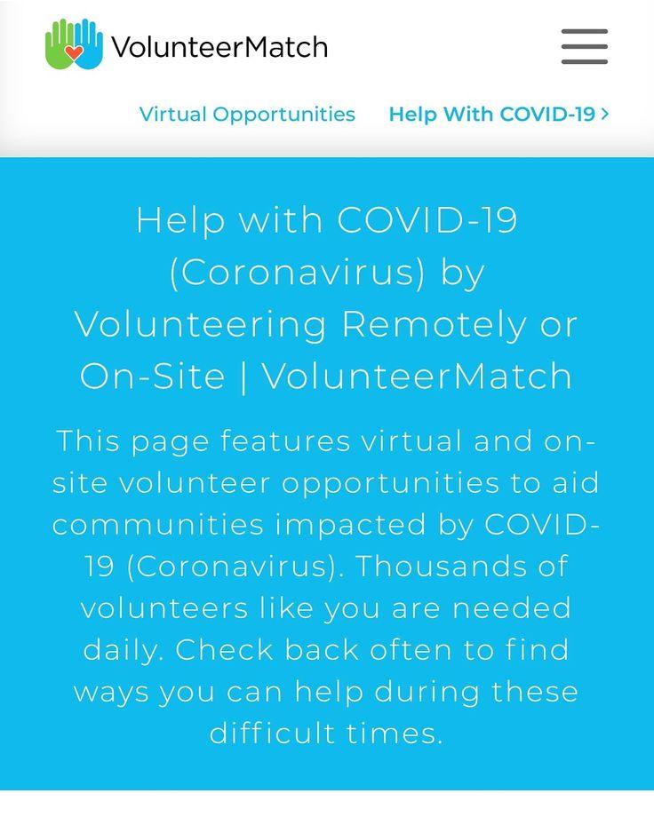 Need work experience? in 2020 Volunteer opportunities