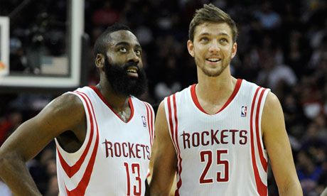 houston rockets | james harden and chandler parsons