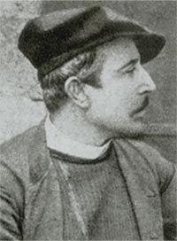 Paul Gauguin, 1880, photograph detail. Photo: Wildenstein Institute Archives