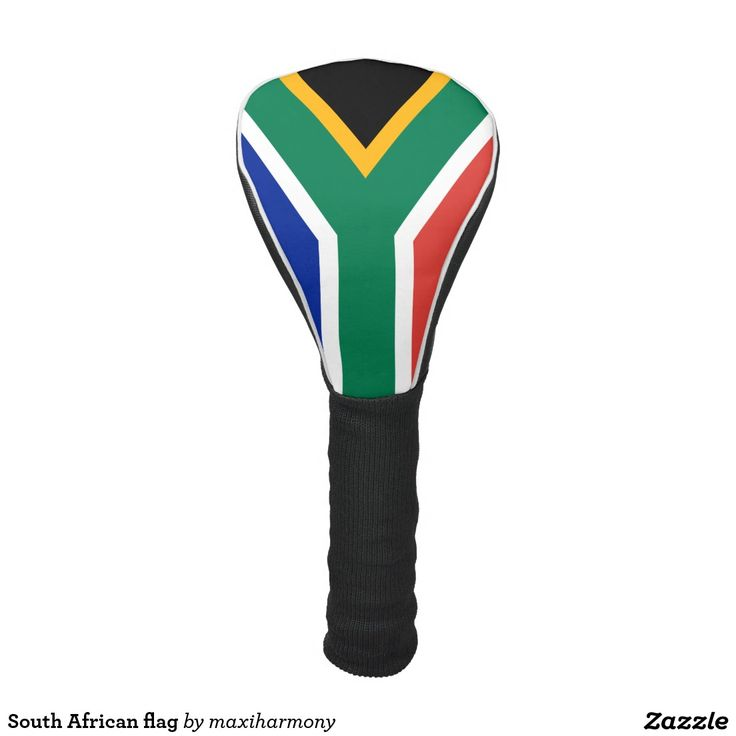 South African flag Golf Head Cover