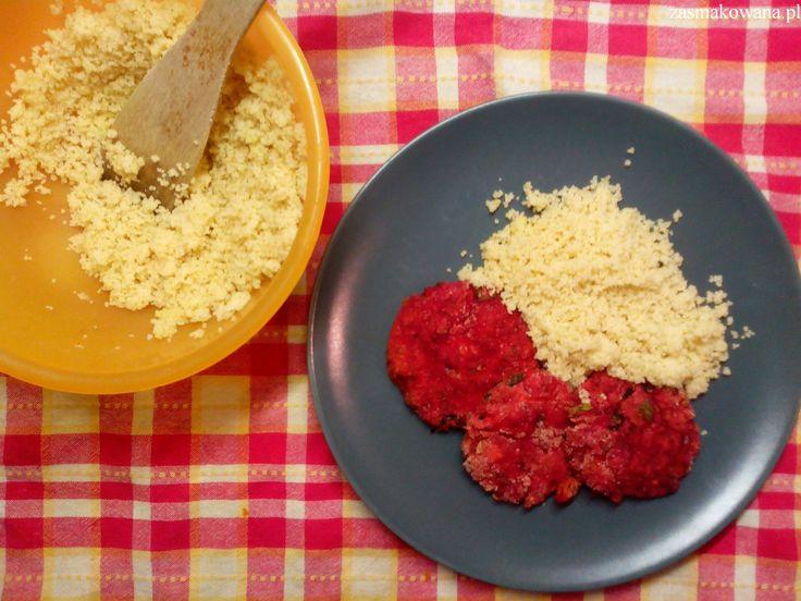 Pieczone placki z tuńczyka, ricotty i buraków http://www.zasmakowana.pl/placki-z-tunczyka-ricotty-i-burakow/