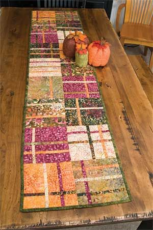 406 best Quilt Runners images on Pinterest | Carpets, Gift and ... : quilted table runner kits - Adamdwight.com