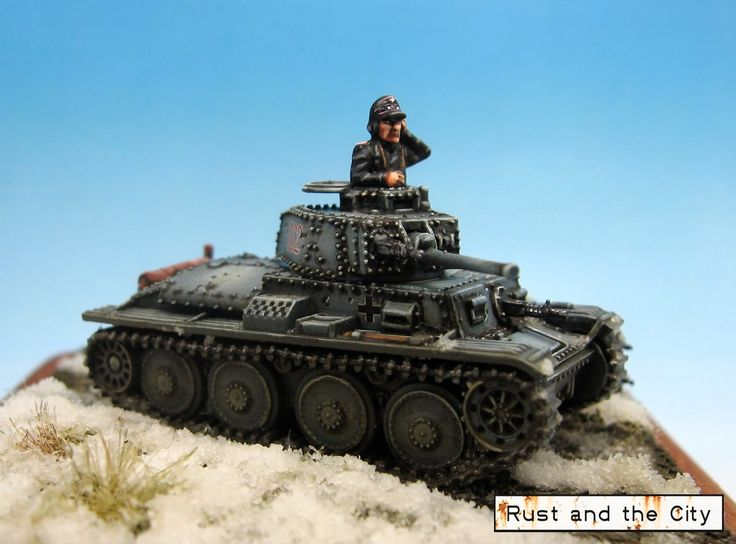 Rust and the City: Diorama: Plastic Soldier Company Panzer 38t