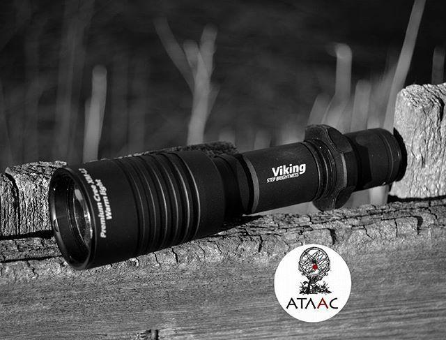 """#instagram #repost #weekend @atlas_edc  """"Viking"""" Armytek  #edc #armytek #atlasedc #flashlight #фонарь #фонари #охота #рыбалка #охота #рыбалка #flashlight #edcflashlight #фонарь #фонари #led #flashaholics #flashaholism #аккумулятор #viking #armytekviking #outdoor"""