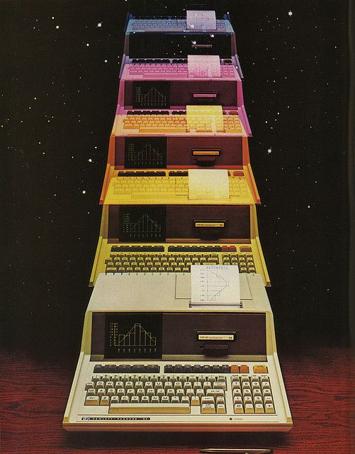 HP-85 Ad by Eric Carl, via Flickr