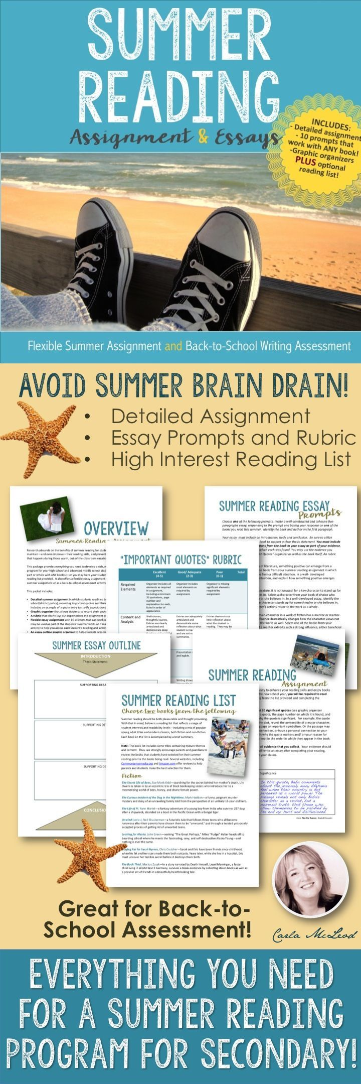 summer reading assignment Please join us in kicking off our 2018 summer reading program toms river regional school district is dedicated to making reading a top priority for all children we believe that it is especially important for students to engage in reading during the summer months and they can do so by participating in our annual district wide summer reading program.