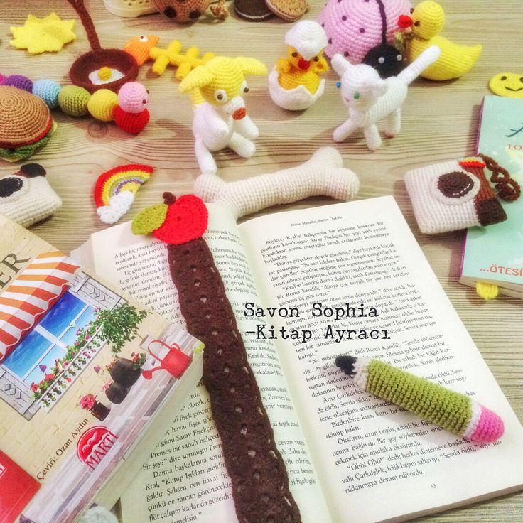 Kitap ayracı,bookworm