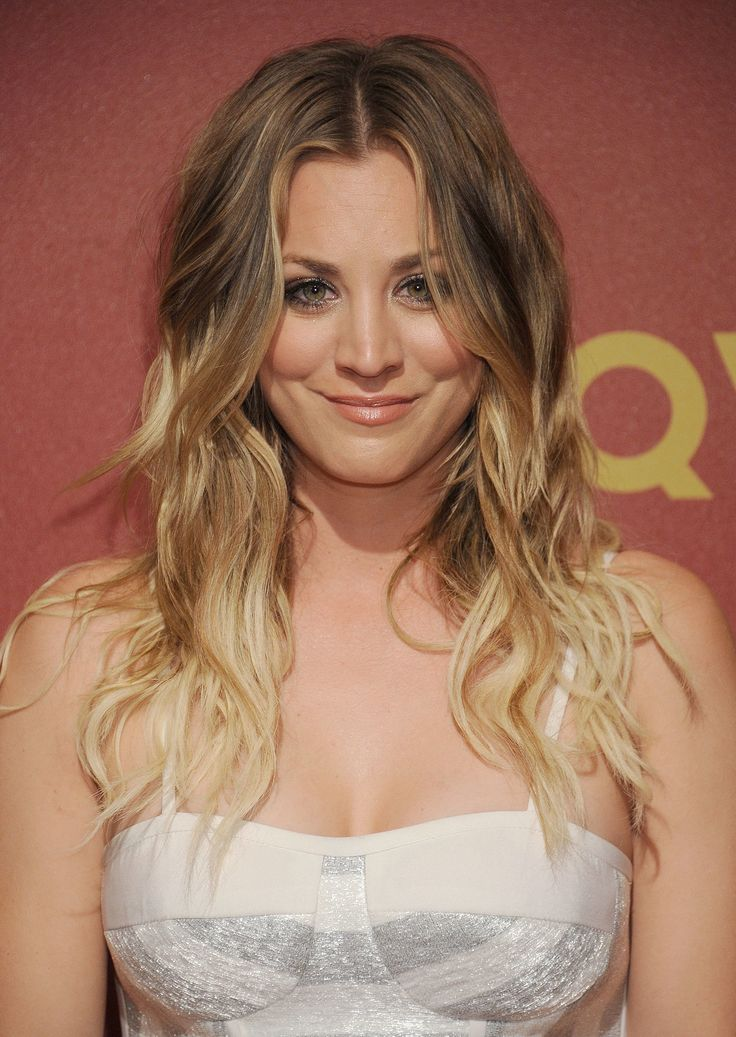 Kaley's hair is amazing. Love the color.