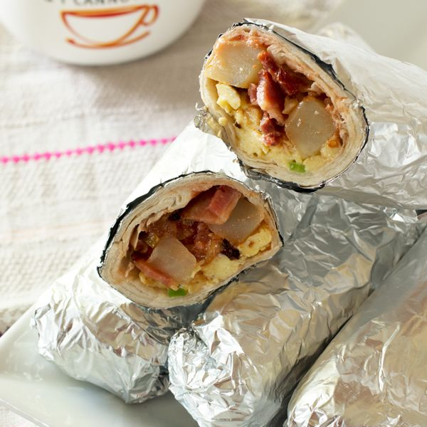 Ultimate Hangover Breakfast Burrito | Sauce + Style