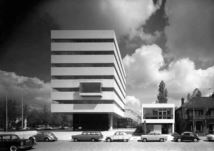 Het Tomadohuis. 1962 Huig Aart (Hugh) Maaskant 1907-1977