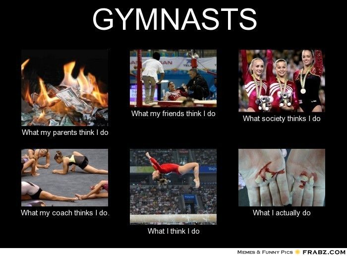Gymnast humor :)
