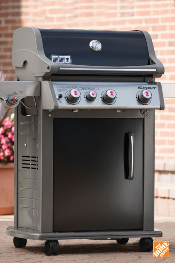 Dads will love this new addition to the backyard. With the Weber Spirit, he can grill all year-long. Shop #FathersDay gifts at homedepot.ca: http://hdepot.ca/2rkU3CX
