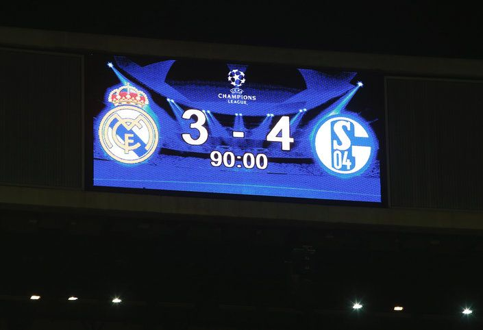 Real Madrid CF v FC Schalke 04 - UEFA Champions League