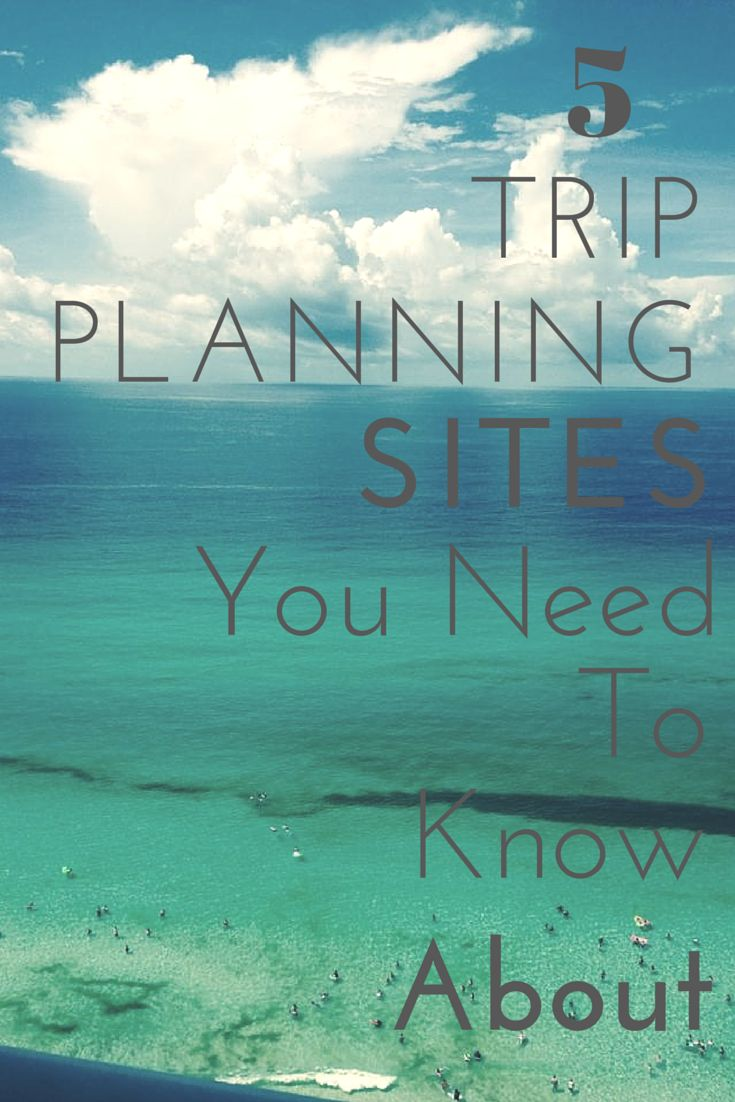 Top 5 Travel Planning Websites  Differing fonts clash with each other, difficult to read against background.