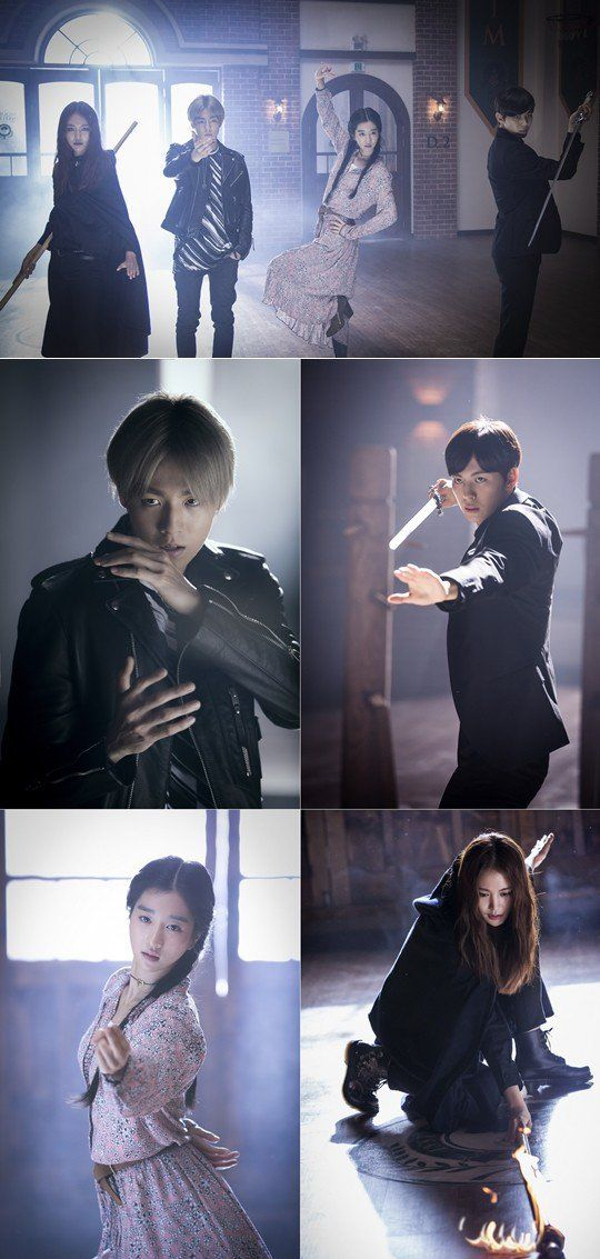Action drama 'Murim School' featuring VIXX's Hongbin, Lee Hyun Woo, and more to air soon! | allkpop.com